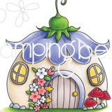 Stamping Bella – EB707 Fairy House