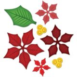 Spellbinders – S5055 Layered Poinsettia die set – out of stock
