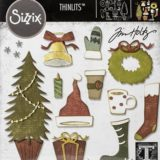Tim Holtz 664191 – Festive Things die set
