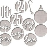 Tim Holtz 664205 – Circle Words Christmas die