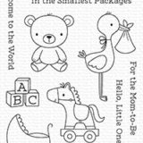 My Favorite Things – Hello Little One stamp & die set – out of stock