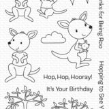 My Favorite Things – Kangaroo Crew stamp & die set