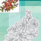 Penny Black 40-700 Poinsettia Poem – out of stock