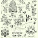 Power Poppy – Bee Kind Toile stamp set