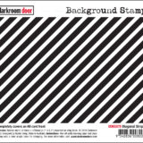 Darkroom Door – DDBS070 – Diagonal Stripes Background Stamp