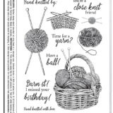 Darkroom Door – DDRS206 Hand Knitted Stamp Set