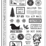 Darkroom Door – DDRS208 Merry Mail Stamp Set