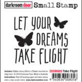 Darkroom Door – DDSM005 – Take Flight Small Stamp