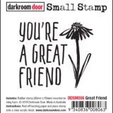 Darkroom Door – DDSM006 – Great Friend Small Stamp