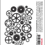 Darkroom Door – DDTS044 Cogs – Texture Stamp