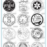 Altenew – Holiday Seals stamp set