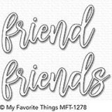 My Favorite Things – Friend Duo die set