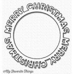 My Favorite Things – Merry Christmas Circle Frame die – out of stock