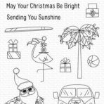 My Favorite Things – Sun Lovin Santa (stamp & die bundle)