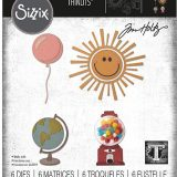Tim Holtz / Sizzix 663868 Circle Play Thinlits set