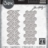 Tim Holtz / Sizzix 663869 Pattern Repeat  Thinlits set