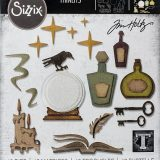 Tim Holtz / Sizzix 664207 Regions Beyond Thinlets die set