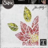 Tim Holtz / Sizzix 664212 – Poinsettia Pieces (thinlits die set)