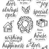 Hero Arts CM406 – May Your Home Be Filled With Joy (stamp set)