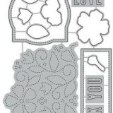 Concord & 9th – 10786/10785 Stitched Blooms (stamp & die bundle)