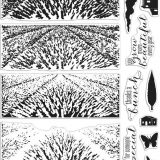 Hero Arts – Layering stamp set Lavender fields bundle – out of stock
