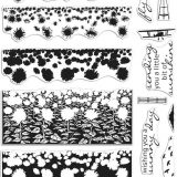 Hero Arts – CM411/DI737 Sunflower Field Colour Layering Scape (stamp & die bundle)