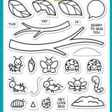 Lawn Fawn – 2221 A Bug Deal (stamp set) – temp. out of stock