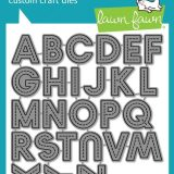 Lawn Fawn – 2261 Olivers Stitched ABC's die
