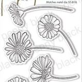 Penny Black – 30-696 Daisy Collection Mini (stamp & die bundle)