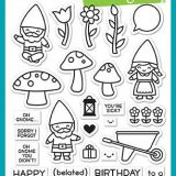Lawn Fawn – LF1880/1881 Oh Gnome (stamp & die bundle)