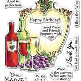 Stampendous – SSC1329 Wine Frame