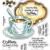 Stampendous SSC1334 Coffee Frame