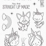 My Favorite Things – Unicorns and Glitter (stamp set)