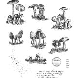 Tim Holtz / Stampers Anonymous CMS377 Tiny Toadstools
