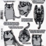 Tim Holtz CMS392 – Snarky Cat – out of stock