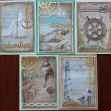 MC&S Card Kit – Stamperia – Sea Land