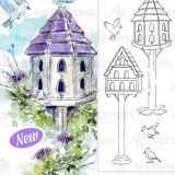 Art Impressions WC5261 Large Bird House