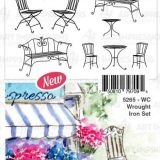 Art Impressions WC5265 Wrought Iron