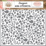 Carta Bella – Farmhouse Market – CBF113033 6×6 Stencil