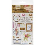 Carta Bella – Farmhouse Market – CBF113066 Puffy Stickers