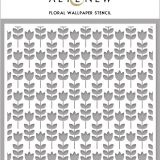 Altenew – Floral Wallpaper Stencil