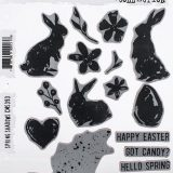Tim Holtz – CMS393 Spring Shadow stamp set- out of stock
