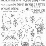 My Favorite Things – Hanging With My Gnomies stamp set