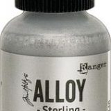 Tim Holtz Alloy Alcohol Inks – Sterling