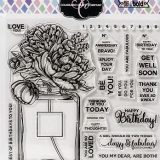 Colorado Clear Stamp – Perfume Bouquet C3BB296