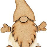 Foundations Decor – Wooden Gnome – sold out