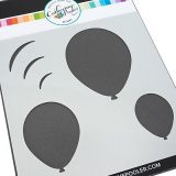 Catherine Pooler – Oval Balloon Stencil