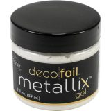 Deco Foil Metallix Gel – White Pearl 2oz
