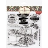 Colorado Clear Stamp – C3LL318 Father & Son