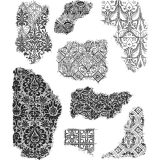 Tim Holtz CMS368 Fragments stamp set – out of stock